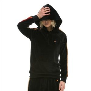 Aviator Nation Tops - Aviator Nation - Classic Velour Pullover Hoodie